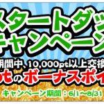 【i2iポイント】「夏のスタートダッシュキャンペーン」新規入会でボーナスポイントをゲット!